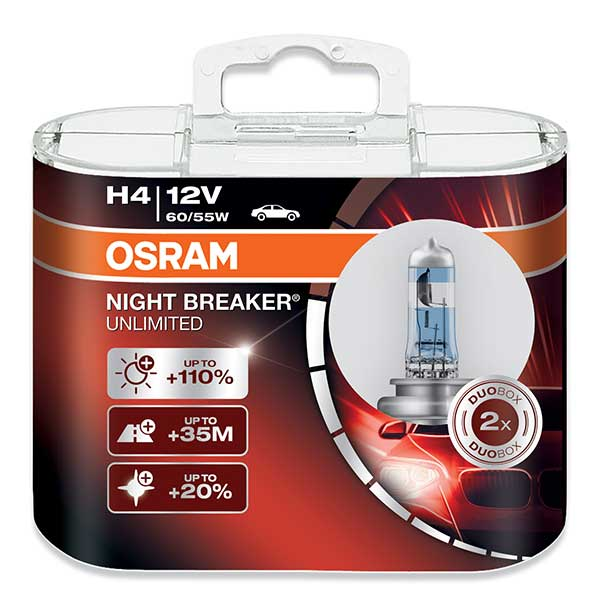 Osram H4 Night Breaker 2x-0